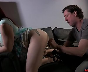 Young Crimson Head Makes Daddy Jealous - PART 1 (Modern Taboo Family)
