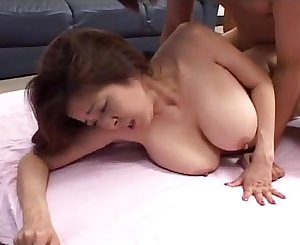 Sexy Japanese girl with huge tits - SEXANUBIS.COM